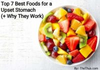 Foods for a Upset Stomach