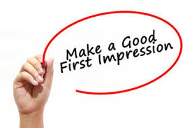 Create first impression