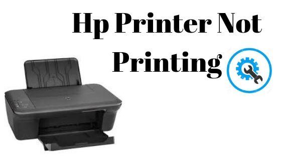 hp printer not printing