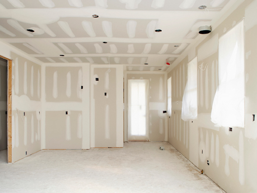 Drywall install and repair