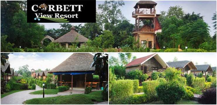 The Corbett View Resort in Jim Corbett, Uttarakhand ( Best Tiger Safari Resort in India)
